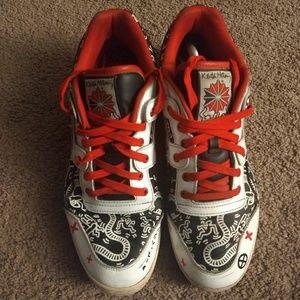 15950d7c7d95d Reebok Shoes - REEBOK WORKOUT PLUS R12 (KEITH HARING)MEN S ...